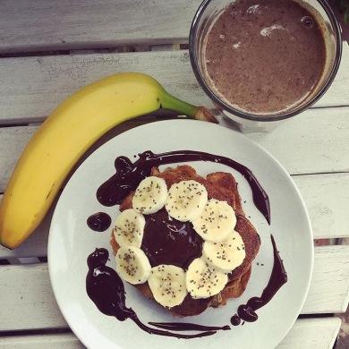 recette meilleure simple seignalet pancakes banane sans farine sans gluten sans lactose
