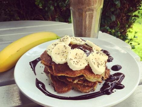 recette pancakes banane simple facile rapide seignalet sans gluten sans lactose