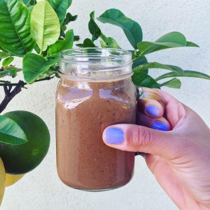 smoothie choco banane seignalet sain sans gluten sans lactose nutrition guerir
