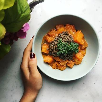 curry vegan proteine recette sans gluten facile cuisiner fibromyalgie seignalet