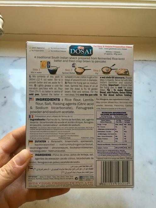 dosai indien blinis pancakes seignalet lentilles fibromyalgie