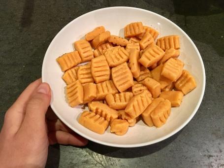 gnocchis sans gluten patate douce vegan vegetalien seignalet fibromyalgie guerir
