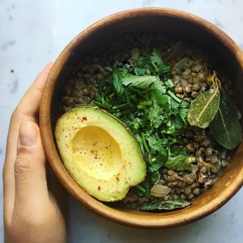 lentilles cumin recette facile hypotoxique seignalet fibromyalgie guerison vegetalien