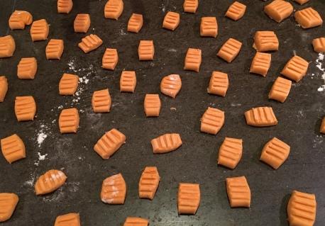 recette facile gnocchis patate douce alimentation hypotoxique sans gluten