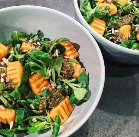 recette gnocchis patate douce sante bien etre facile fibromyalgie sans gluten seignalet