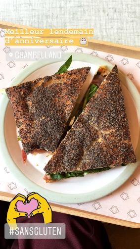 sans gluten sandwich boulangerie paris fibromyalgie guerir