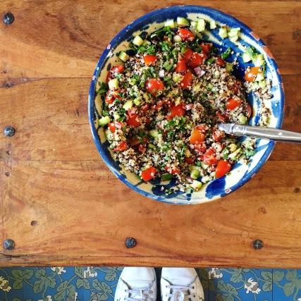 taboulé sans gluten quinoa hypotoxique seignalet sain guerir douleur chronique bien etre